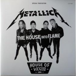 Metallica – The House Into Flame - Double LP Vinyl album - Coloured Red