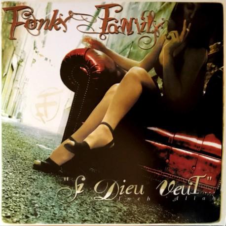 """Fonky Family – """"Si Dieu Veut""""...Inch Allah - Double LP Vinyl Album - Coloured Rouge + MP3 Download"""