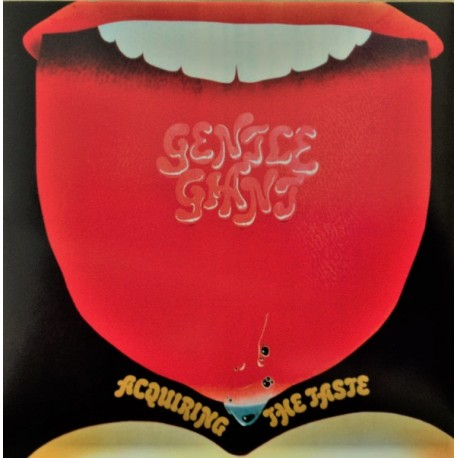 Gentle Giant ‎– Acquiring The Taste - LP Vinyl Album Gatefold