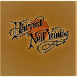 Neil Young ‎– Harvest - LP Vinyl Album - Black Edition