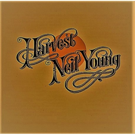 Neil Young ‎– Harvest - LP Vinyl Album - Coloured White
