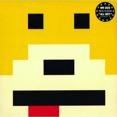 Mr. Oizo ‎– All Wet - Double LP Vinyl + CD - Yellow Edition