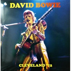 David Bowie ‎– Cleveland '72 - Double LP Vinyl Album - Coloured Pink + Poster