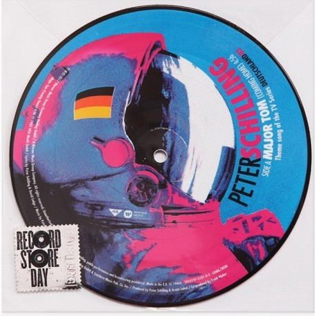 Peter Schilling – Major Tom (Coming Home) - Vinyl 7 inches Picture Disc - Record Store Day