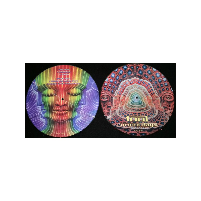 Vinyl Tool, 10,000 Days double lp picture disc, Limited