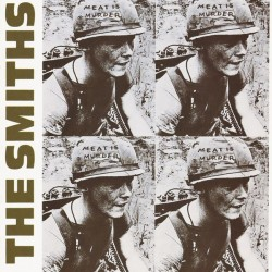 The Smiths ‎– Meat Is Murder - LP Vinyl Album - Coloured Blue