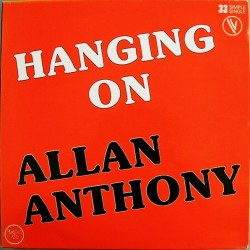Allan Anthony ‎– Hanging On - Maxi Vinyl 12 inches