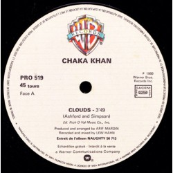 Chaka Khan ‎– Clouds - Maxi Vinyl 12 inches Promo