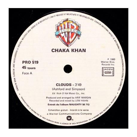 Chaka Khan – Clouds - Maxi Vinyl 12 inches Promo