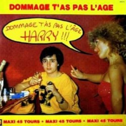 Harry ‎– Dommage T'as Pas L'age - Maxi Vinyl 12 inches