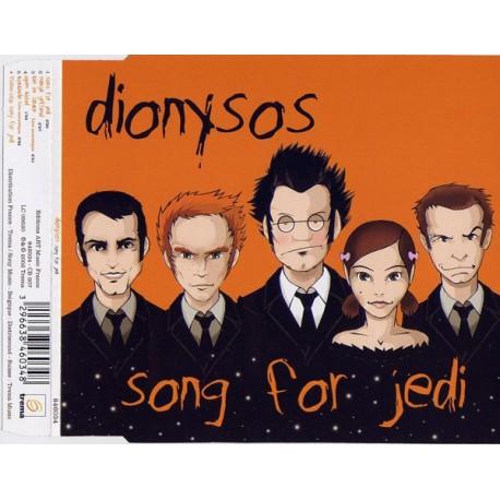 Dionysos  – Song For Jedi - CD Maxi 5 Tracks + Vidéo