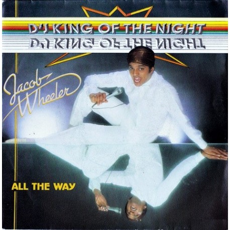 Jacob Wheeler – D'J King Of The Night - Maxi Vinyl 12 inches