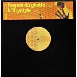 Pit Baccardi – L'Espoir Du Ghetto - K'1frystyle - Maxi vinyl 12 inches Promo