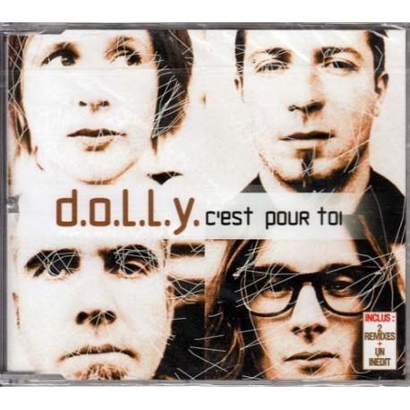Dolly  – C'Est Pour Toi - CD Maxi 4 Tracks