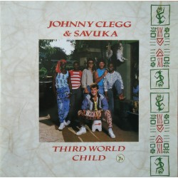 Johnny Clegg & Savuka ‎– Third World Child - LP Vinyl Album Gatefold