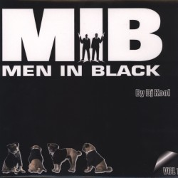 D.J. Kool ‎– Men In Black Vol.1 - Maxi Vinyl 12 inches