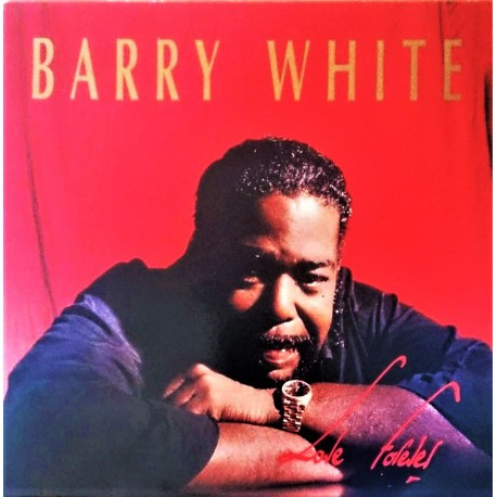 Barry White ‎– Love Forever - Maxi Vinyl 12 inches - Promo