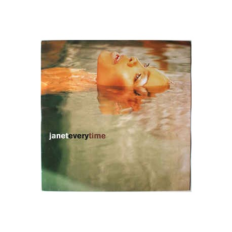 Janet Jackson - Everytime - Maxi Vinyl 12 inches
