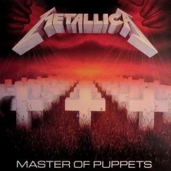 Metallica – Master Of Puppets - LP Vinyl Album Coloured Yellow