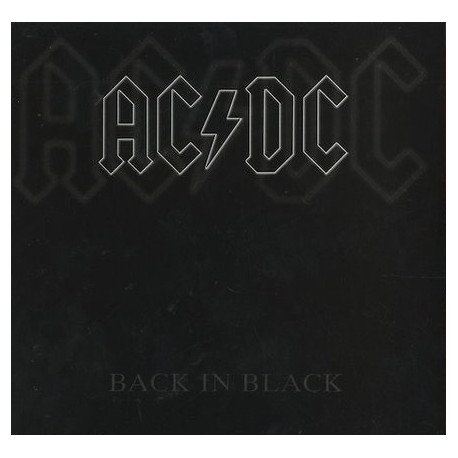 AC/DC – Back In Black - LP Vinyl Album - Coloured Clear