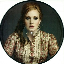 Adele ‎– Set Fire To The Rain (Part 1) - Picture Disc - Maxi 12 inches