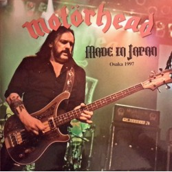 Motörhead ‎– Made In Japan - Live Osaka 1997 - Double LP Vinyl Album Coloured White