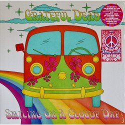 The Grateful Dead ‎– Smiling On A Cloudy Day - LP Vinyl Album Coloured Purple