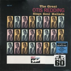 Otis Redding ‎– The Great Otis Redding Sings Soul Ballads - LP inyl Album