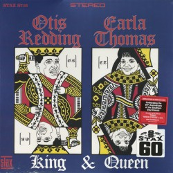 Otis Redding & Carla Thomas ‎– King & Queen - LP Vinyl Album