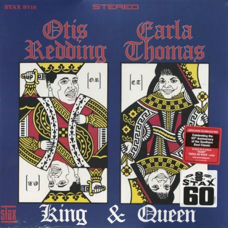 Otis Redding & Carla Thomas – King & Queen - LP Vinyl Album