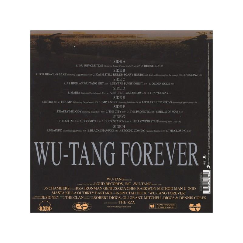 Wu-tang clan iron flag (2xlp + download card).