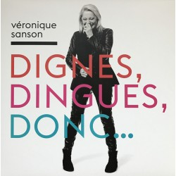 Véronique Sanson ‎– Dignes, Dingues, Donc...- LP Vinyl Album + CD