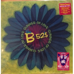 The B-52's – Summer Of Love - Maxi Vinyl 12 inches - Limited Edition Coloured Red