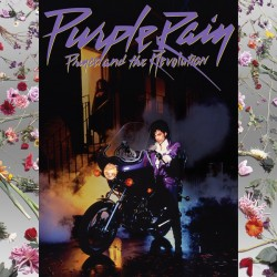 Prince And The Revolution ‎– Purple Rain - LP Vinyl Album + Poster + French Sticker
