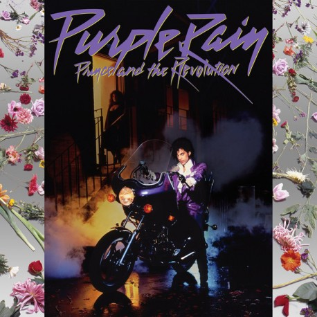 Prince And The Revolution – Purple Rain - LP Vinyl Album + Poster + French Sticker