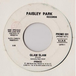 Prince - Glenn Frey ‎– Glam Slam - True Love - Vinyl 7 inches 45 RPM - Promo