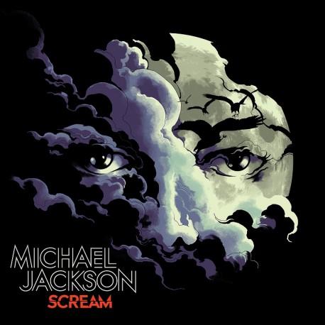 Michael Jackson - Scream - Double LP Vinyl Album Coloured + Poster