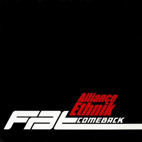 Alliance Ethnik – Fat Comeback - Maxi Vinyl 12 inches