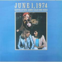 Kevin Ayers - John Cale - Eno - Nico – June 1, 1974 - LP Vinyl Album