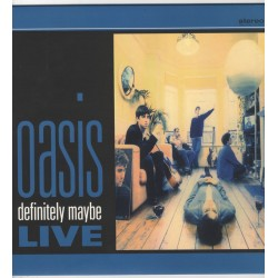 Oasis - Definitely Maybe Live - LP Vinyl Album