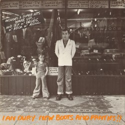 Ian Dury – New Boots And Panties !! - LP Vinyl Album Gatefold