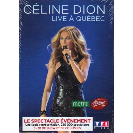 Céline Dion – Live In Quebec - DVD