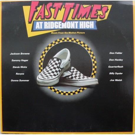 Musique de Film - Various – Fast Times At Ridgemont High - LP Vinyl