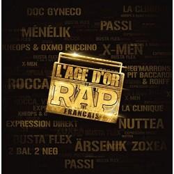 L'Age d'Or du Rap Français - Compilation - Double LP Vinyl Album