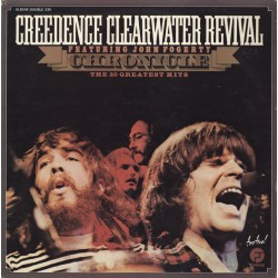 Creedence Clearwater Revival Featuring John Fogerty ‎– Chronicle The 20 Greatest Hits - Double LP Vinyl