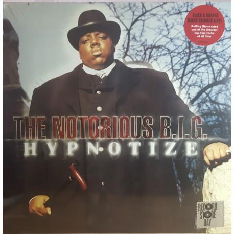 Notorious B.I.G. – Hypnotize - Maxi Vinyl 12 inches - Coloured Black & Orange - Black Friday