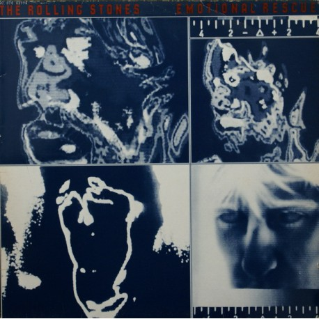 The Rolling Stones – Emotional Rescue - LP Vinyl Album + Giant Poster