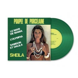 Sheila - Poupée de porcelaine - LP Vinyl Album - Coloured Green - Limited Edition