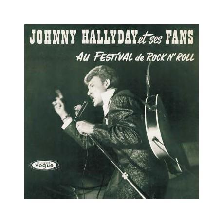 Johnny Hallyday et ses Fans au Festival de Rock'N Roll - LP Vinyl Album