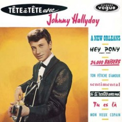 Johnny Hallyday - Tête à Tête avec Johnny Hallyday - LP Vinyl Album